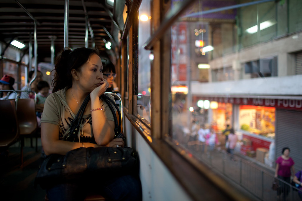 Hong Kong Tram Ride to Kennedy Town