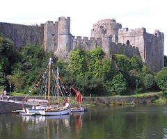 "Three gaffers at Pembroke Castle • <a style=""font-size:0.8em;"" href=""http://www.flickr.com/photos/36398778@N08/6214447650/"" target=""_blank"">View on Flickr</a>"