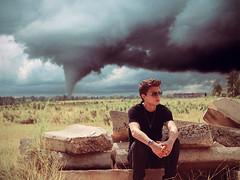 the past is a mess. (ethanklenk) Tags: portrait storm photoshop landscape ethan twister tornado aviators klenk