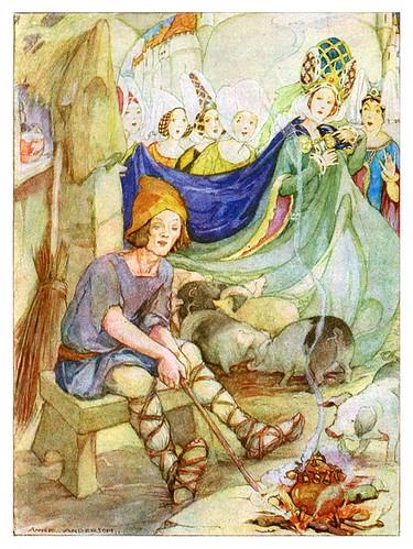020- Cuentos de Hans Christian Andersen-El porquero-Anne Anderson