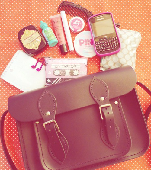 what's in my bag 2011 edition