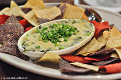 Spinach Artichoke Dip at Axel's Bonfire ~ St Paul, MN