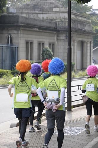 上野のマラソン大会