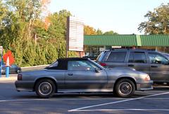 ASC/McLaren Mustang (Alex Nunez) Tags: auto street ford car automobile ct convertible mclaren fox parked mustang gt 50 limitededition asc sighting specialedition foxbody 5liter