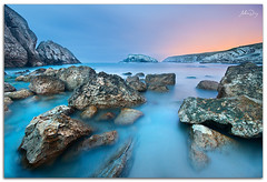 Cold mood (alonsodr) Tags: longexposure sunset beach atardecer seascapes sony playa filter reverse alpha alonso cantabria graduated inverso marinas carlzeiss filtro largaexposicin liencres degradado nd8 a900 alonsodr arnia gnd8 alonsodaz alpha900 cz1635mm