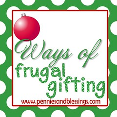 Ways of Frugal Gifting