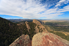 Top of the Third Flatiron (matt house) Tags: autumn fall colorado boulder climbing canonef1740mmf4lusm flatirons thirdflatiron