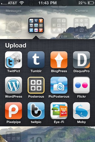 Uploading Apps for Photos and Text  (Oct 2011)