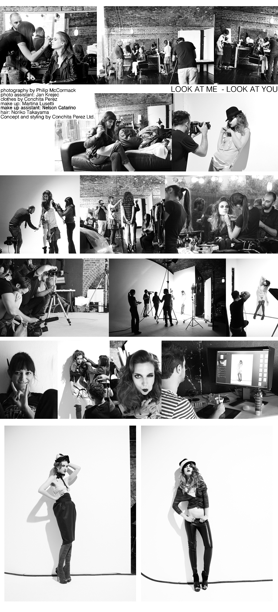 Editorial Shoot Spring/Summer 2012 Conchita Perez Collection