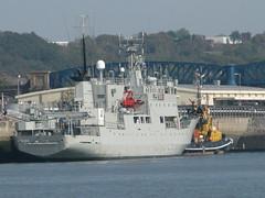 2011-093068 (bubbahop) Tags: uk greatbritain cruise england unitedkingdom navy plymouth swedish devon hms dockyards warships 2011 trossö a264 trosso europetrip24
