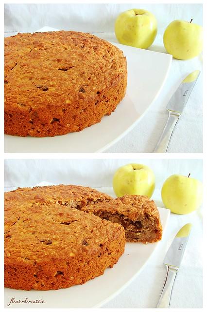яблочный кекс к завтраку 2