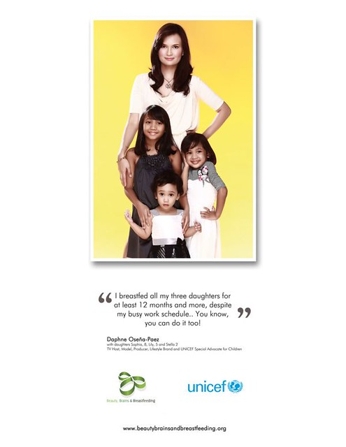 breastfeeding campaign. daphne paez