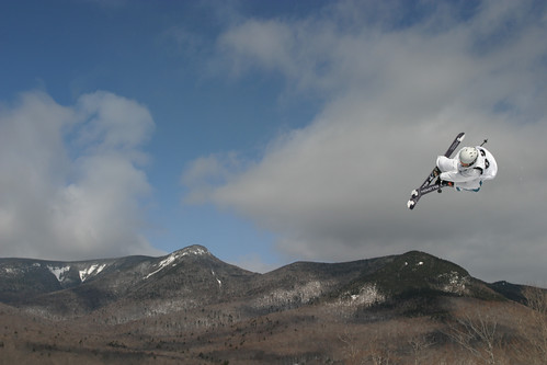 loon skier big air