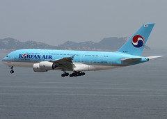 Airbus | A380-861 | Korean Air | HL7612 | Hong Kong | HKG | VHHH (Christian Junker | PHOTOGRAPHY) Tags: china plane canon hongkong eos airport asia aviation ngc super landing airline 7d airbus a380 ke heavy hkg 100400mm sar kal clk planespotting cheklapkok koreanair 039 hkia skyteam vhhh a380800 a388 25r a380861 ke603 hl7612 koreanair603
