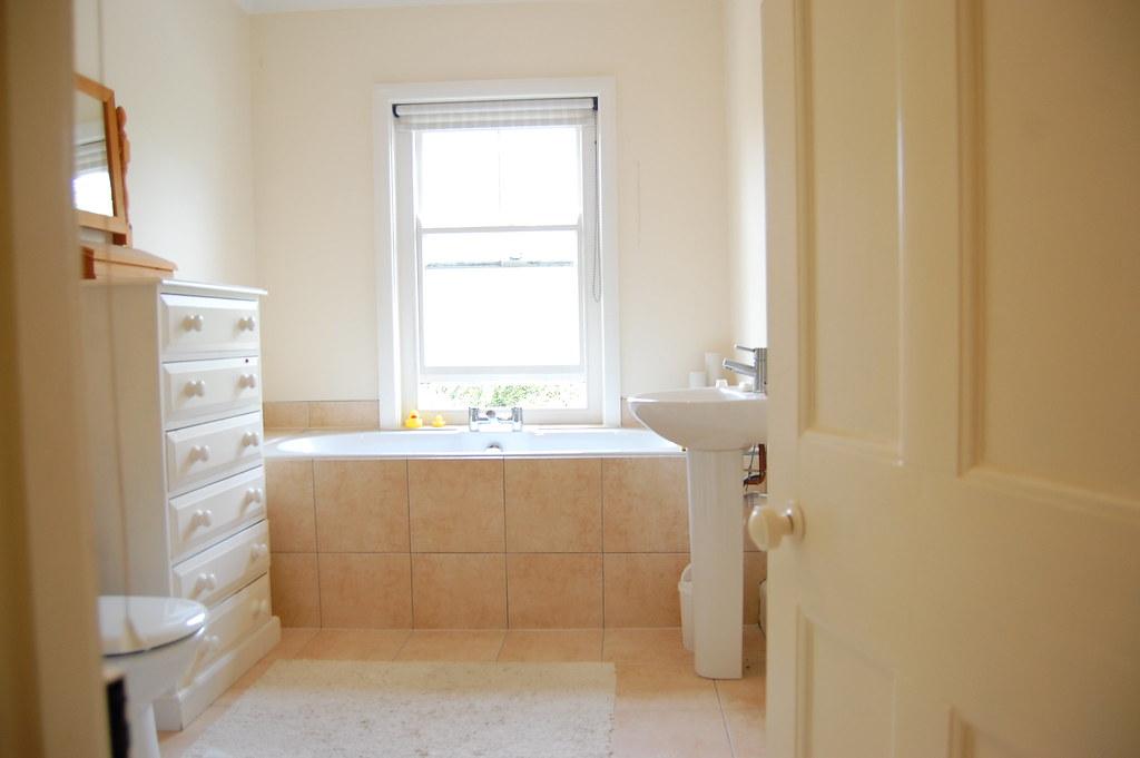 Bathroom - ceiling, walls, woodwork