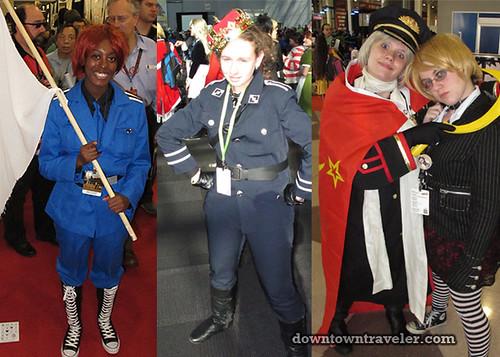 2011 NY Comic Con Hetalia Costumes