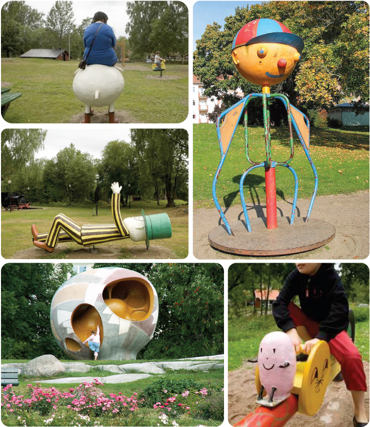 Swedish playgrounds