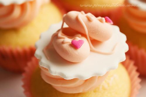 Ballerina cupcakes for Rita.-