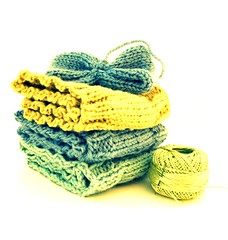 chartreuse (andrea creates) Tags: knit earwarmers oct11