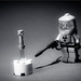 294/365 Excalibur - Black & White - Lego