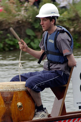 Beat that Drum (MalB) Tags: cambridge river boat dragon cam dragonboat 2011