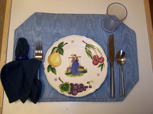 Hand Drawn Place Setting (Photo from My Montessori Journey)