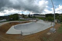 Pisa de Skate de Ongarai finalizada