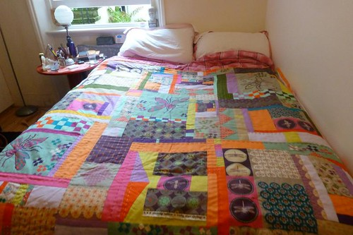 Ruby Star Spring Quilt - Finish! by Sarah @ pingsandneedles