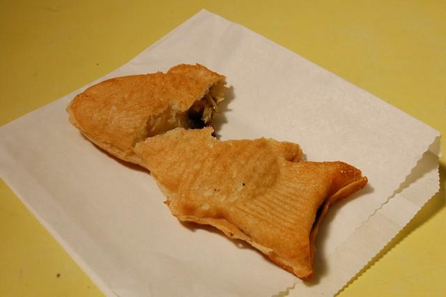 Choco banana taiyaki