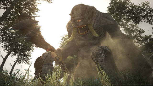 Shoot A Cyclops In Its One Eye In New Dragon's Dogma TGS Trailer (1)