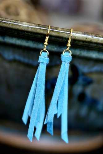Anthro Knockoff Tassel Earrings - See Vanessa Craft