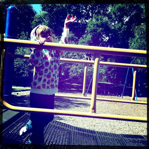 """256/365:2 /// """"Hi, Dad!"""" by daisy plus three"""