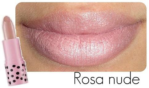 .Rosa nude - coleção pop