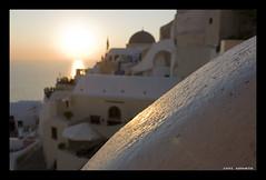 """Santorini """"Aspettanto il tramonto"""" (Zani Samuele) Tags: canon tramonto santorini grecia isola cicladi 1000d zanisamuele"""