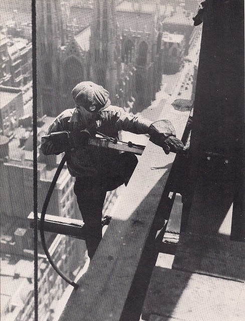 (Undated) Rockefeller Center Construction Worker