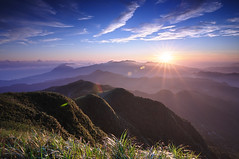 (Explored) () Tags: sunrise taiwan  taipei    sunstar