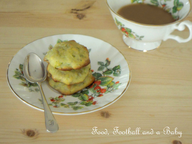 Lemon Courgette Cookies 3