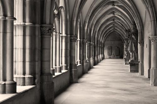 Kreuzgang by Fotosilber