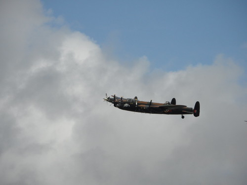 GOODWOOD 2011 Lancaster Bomber