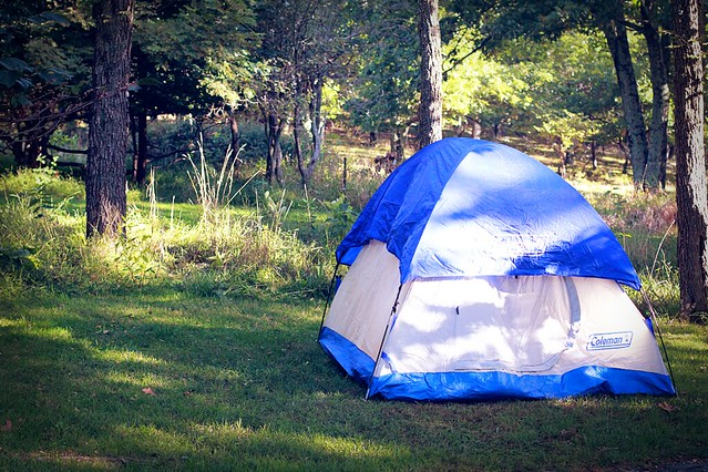 my little tent in shenandoah national park
