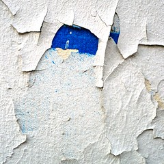 when only French (SteffenTuck) Tags: blue white paris peeling paint exterior decay inside whitewash europe2009 steffentuck
