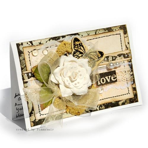 """Prima """"Printery"""" card"""