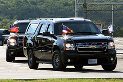 Vice Presidential Suburban (Christopher D. Dolan) Tags: two force suburban secret air president vice joe limo presidential service limousine motorcade biden