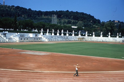 Greek Stadium built by Mussolini