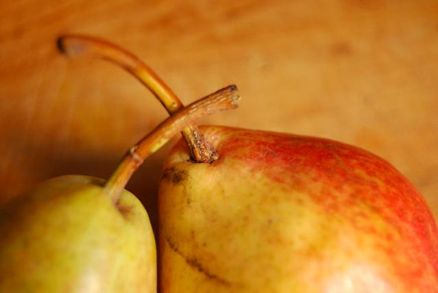 Farmers market pears