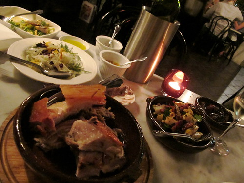 Woodfired pig and accoutrements