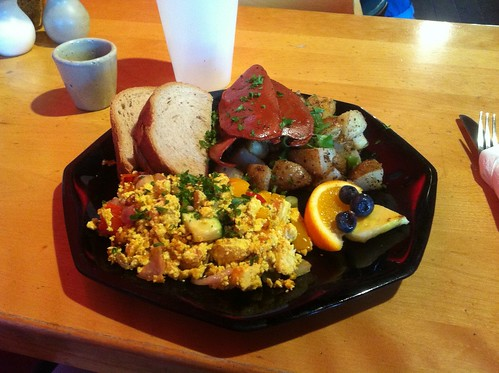 Tofu Scramble by raise my voice