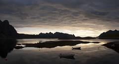 Tramonto a Svolvaer (Isabella Pirastu) Tags: norge lofoten norvegia svolvaer isole norwey colorphotoaward doublyniceshot doubleniceshot mygearandme mygearandmepremium