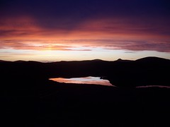 3 Sunset from rear of cottage on North Uist (sandy1937) Tags: sunset reflections colours north loch westernisles uist northuist spectacularsunsetsandsunrises