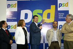 """Gilberto Kassab mostra o logo do partido • <a style=""""font-size:0.8em;"""" href=""""http://www.flickr.com/photos/60774784@N04/6169340058/"""" target=""""_blank"""">View on Flickr</a>"""
